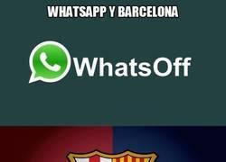 Enlace a Barça y Whatsapp