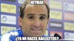 Enlace a Neymar ¿no haces bailecitos?