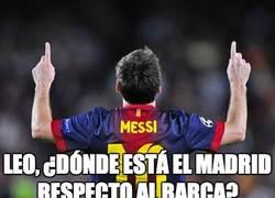 Enlace a Leo ¿dónde está el Madrid?