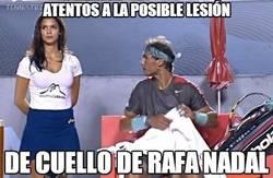 Enlace a Atentos a la posible lesión de Rafa Nadal