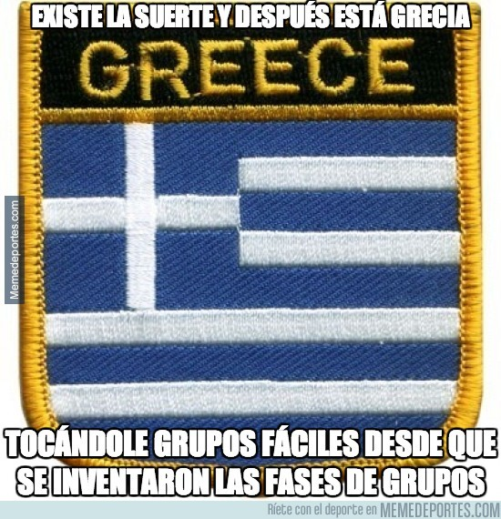 271233 - Existe la suerte y luego está Grecia