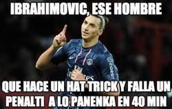 Enlace a Ibrahimovic, un personaje único