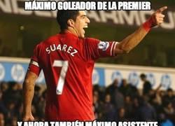 Enlace a Suárez, marca y asiste