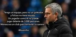 Enlace a Mourinho mandándole un guiño a Falcao
