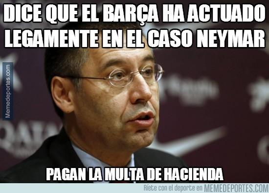 272125 - Dice que el Barça ha actuado legamente en el caso Neymar