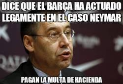 Enlace a Dice que el Barça ha actuado legamente en el caso Neymar