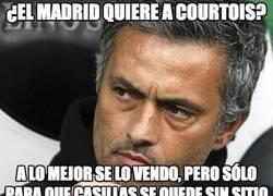 Enlace a ¿El Madrid quiere a Courtois?