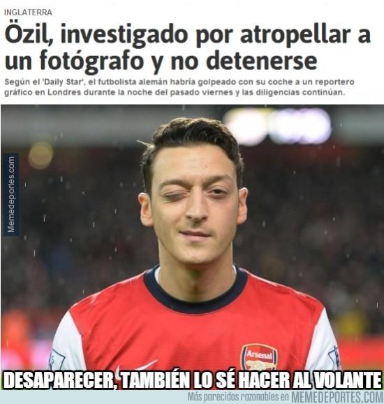 272387 - Özil, maestro de la desaparición