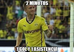 Enlace a Reus se está saliendo, qué poco le durará al Borussia :(