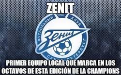 Enlace a Zenit, al menos tienes este honor