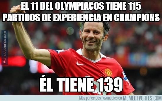 272611 - El 11 del Olympiacos tiene 115 partidos de experiencia en Champions