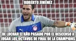 Enlace a Roberto Jiménez, buen cambio amigo