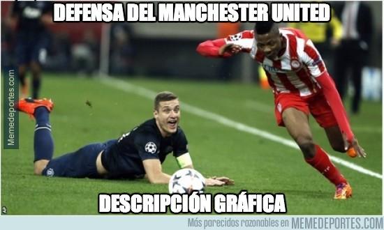 272750 - La defensa del Manchester United esta noche