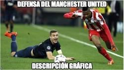 Enlace a La defensa del Manchester United esta noche