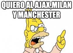 Enlace a Quiero al Ajax, Milan y Manchester