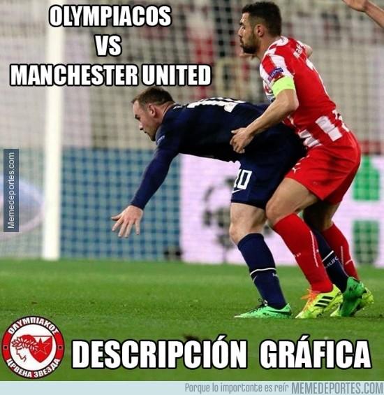272967 - Olympiacos Vs Manchester United Descripción Gráfica