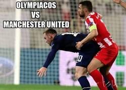 Enlace a Olympiacos Vs Manchester United Descripción Gráfica