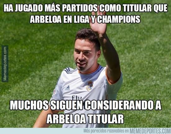 273225 - Arbeloa sólo ha jugado en Copa y partidos sueltos de Liga