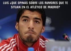 Enlace a Luis Suárez al Atlético... claro claro