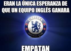 Enlace a Eran la única esperanza de que un equipo inglés ganara