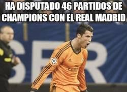 Enlace a 46 partidos de Champions con el Real Madrid