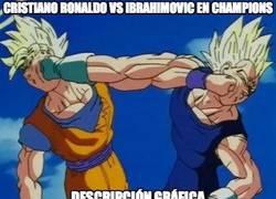Enlace a Cristiano Ronaldo vs Ibrahimovic en Champions