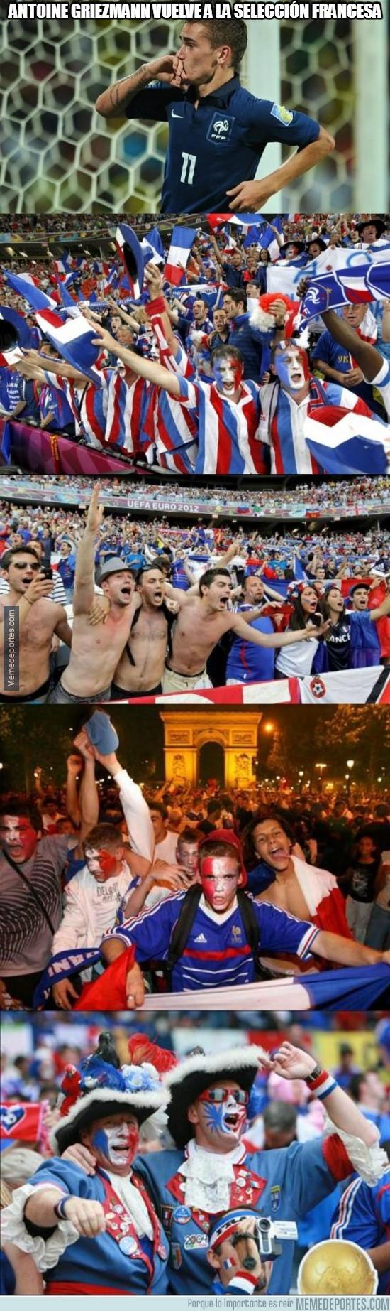 273983 - Franceses, estáis de suerte