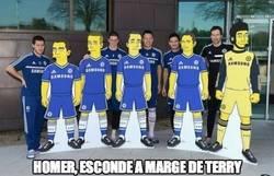 Enlace a El Chelsea llega a los Simpson
