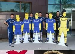 Enlace a David Luiz ya tenía su Simpson antes de que fuera mainstream