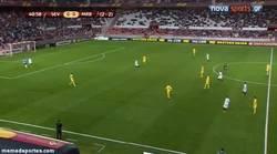 Enlace a GIF: Ojito al gol que Reyes le ha hecho al Maribor. Zorro viejo