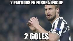 Enlace a 2 partidos en Europa League