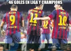 Enlace a Tridente Barça vs Tridente Real Madrid