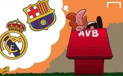 Enlace a Villas-Boas soñando con un posible fichaje del Barça o Madrid, sueña sueña...