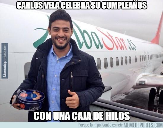 274991 - Carlos Vela celebra su 25 cumpleaños