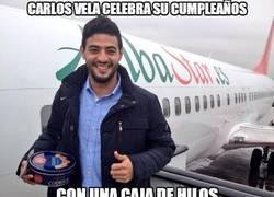Enlace a Carlos Vela celebra su 25 cumpleaños