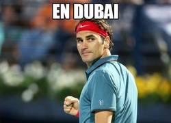 Enlace a En Dubai, volvió Federer