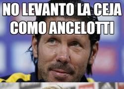 Enlace a No levanto la ceja como Ancelotti