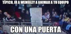 Enlace a Típico, ir a Wembley a animar a tu equipo