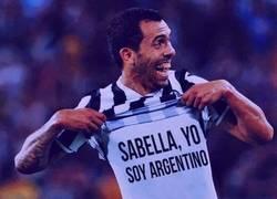 Enlace a Tévez reclamando a Sabella ir al Mundial