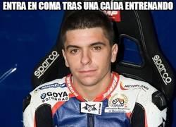 Enlace a Alex Mariñelarena entra en coma tras una caída entrenando