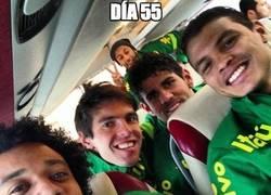 Enlace a Diego Costa infiltrado en la selección de Brasil
