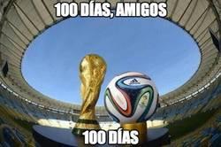 Enlace a ¡Quedan 100 días para el Mundial de Brasil!
