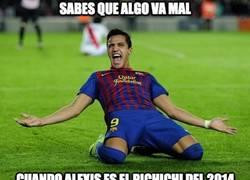 Enlace a Cuando Alexis es el pichichi de 2014...