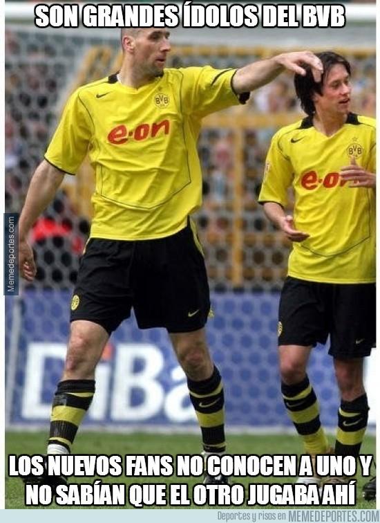 276666 - Rosicky y Koller, grandes ídolos del Borussia Dortmund