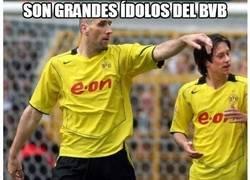 Enlace a Rosicky y Koller, grandes ídolos del Borussia Dortmund