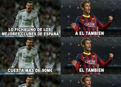 Enlace a La rivalidad y paralelismo entre Neymar y Gareth Bale