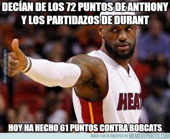 276859 - LeBron James tenía envidia de Durant y Anthony