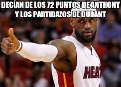Enlace a LeBron James tenía envidia de Durant y Anthony