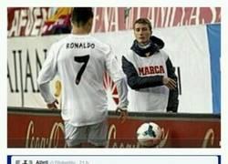 Enlace a El recogepelotas del Calderón @IvanMadrizzz también se burla de Cristiano Ronaldo en Twitter