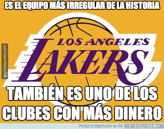 276876 - ¿Los Angeles Lakers equipo irregular?